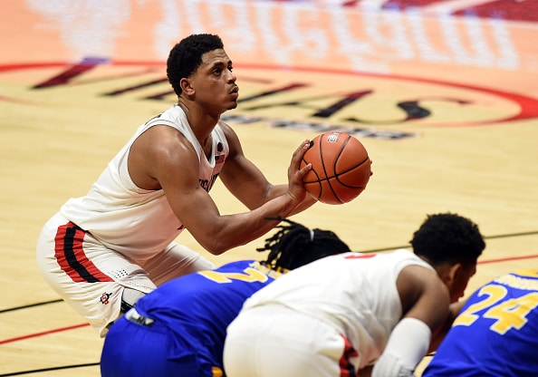 San Diego State basketball tightens the clamps on defense in overtime to defeat Boise State.