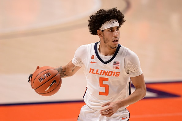 Illinois basketball uses a late 9-0 run to avoid the season sweep by Ohio State.