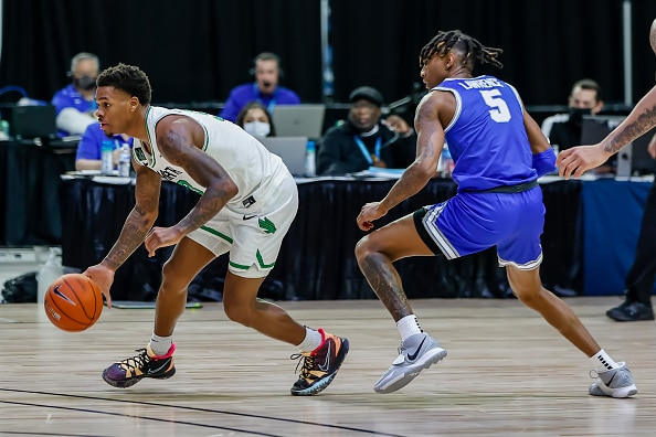 North Texas wins the Conference USA Championship for an automatic bid into the NCAA tournament.