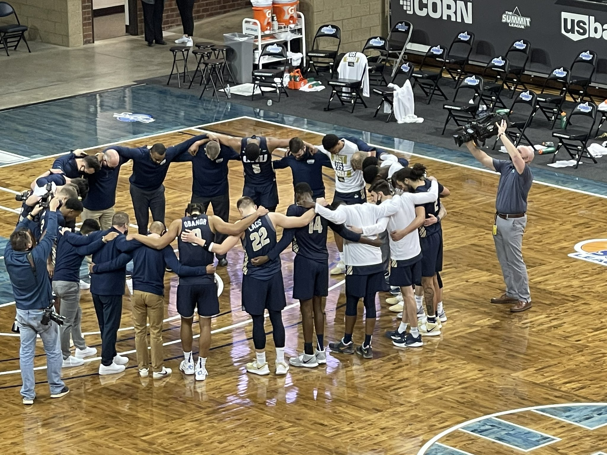 Oral Roberts Basketball wins the Summit