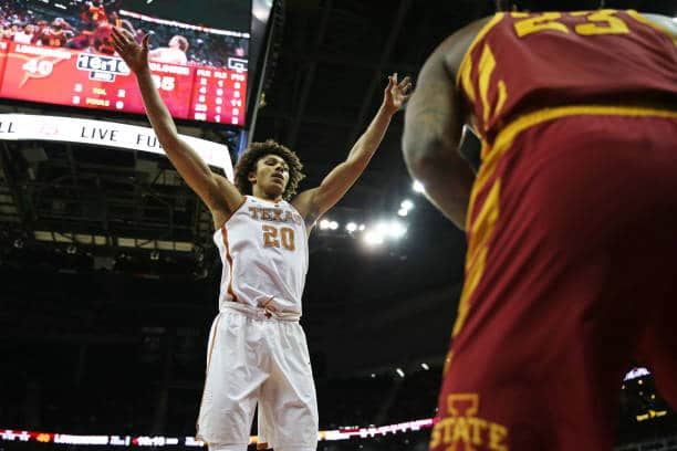 Jericho Sims has first-round potential in the 2021 NBA Draft.