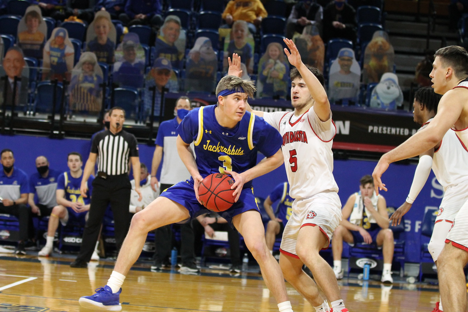 Baylor Scheierman is the anchor of a well-rounded South Dakota State basketball team.