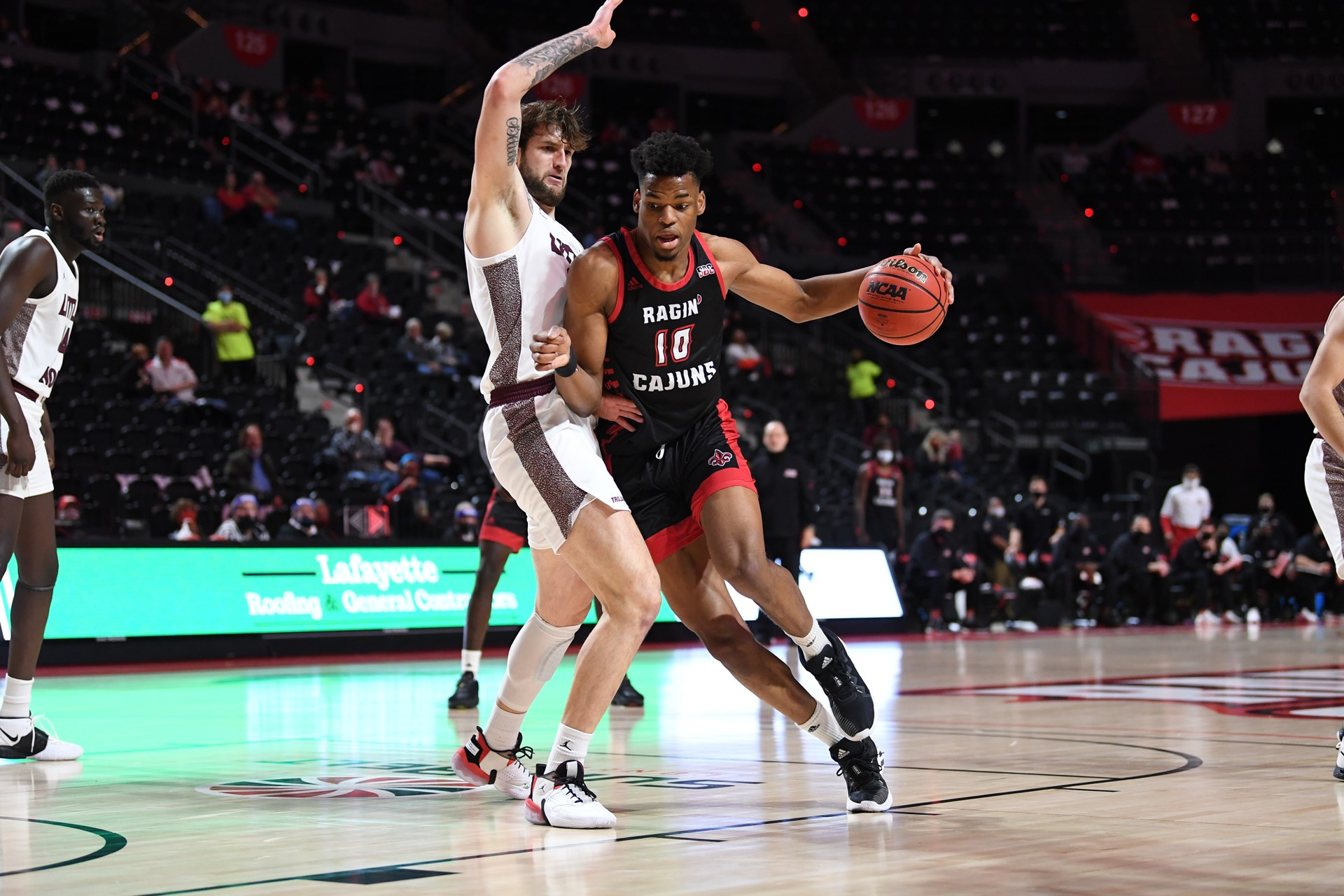 Theo Akwuba is one of the most feared players in the Sun Belt. He'll lead Louisiana basketball.