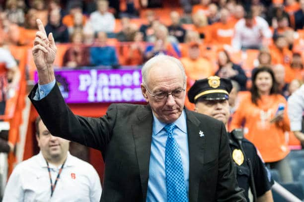 Jim Boeheim can become the second college basketball coach to reach 1,000 career games.