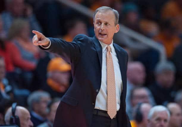 Tennessee basketball coach Rick Barnes