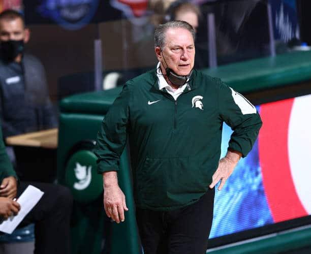 College basketball coach Tom Izzo