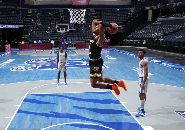 Wichita State basketball star Tyson Etienne